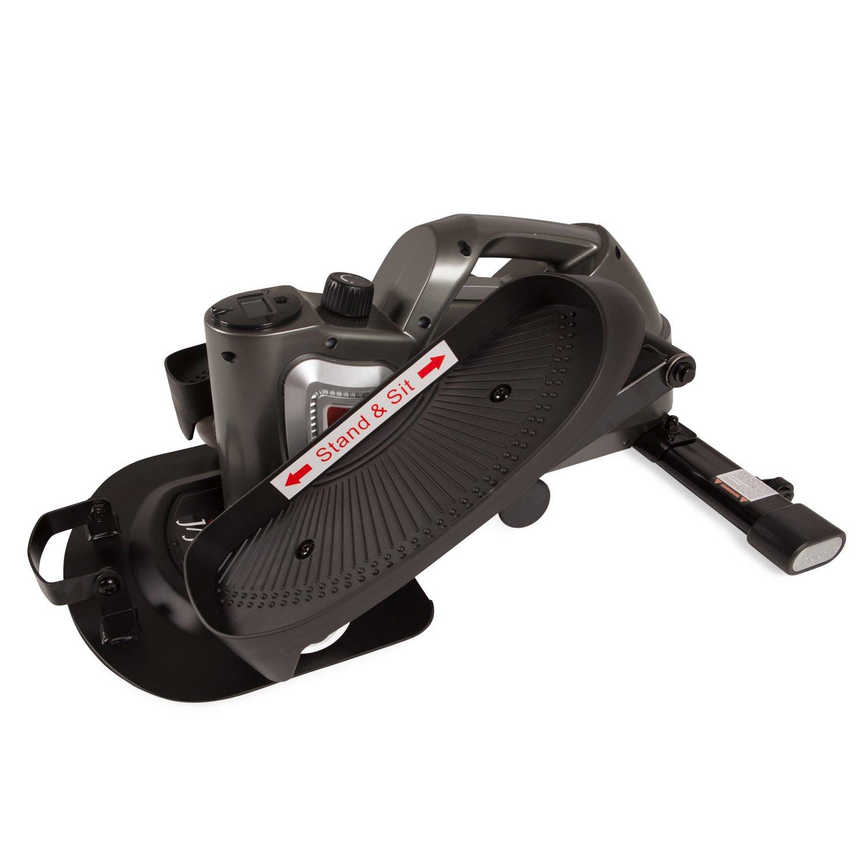 JFIT 50-1000-PEWj/Fit Under Desk & Stand Up Mini Elliptical, Pewter
