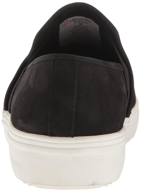 Blondo Women's Riyan Waterproof Fashion Sneaker B01N6HUA2K 8 B(M) US|Black Nubuck
