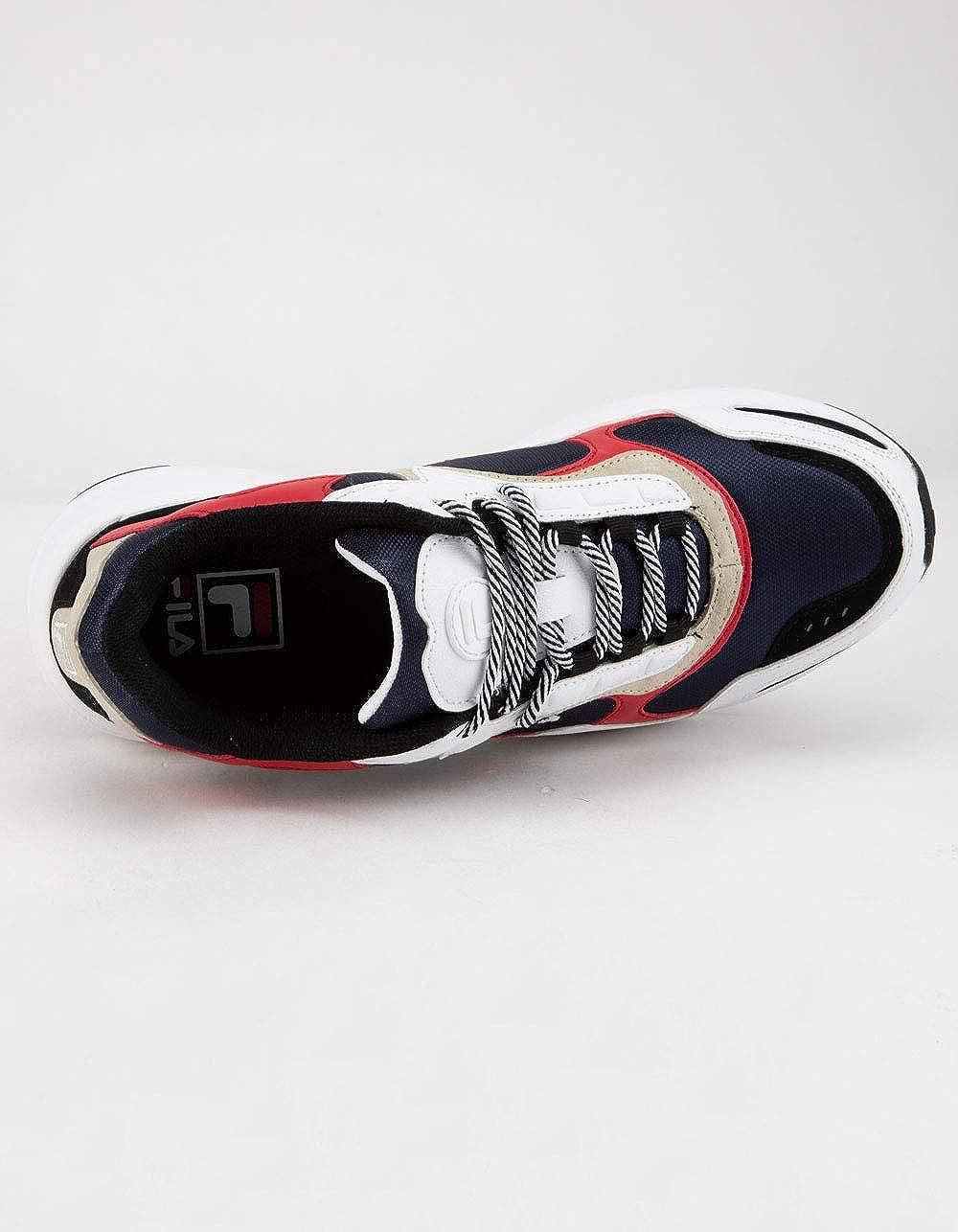Fila Mens LUMINANCE Sneaker Navy/White/Red