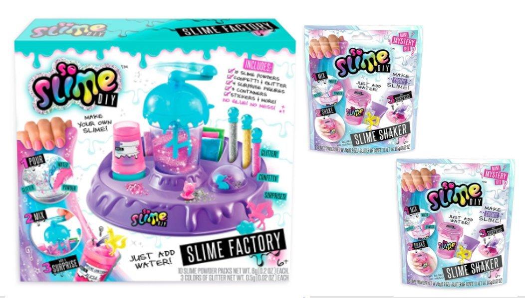 So Slime DIY Factory & Bonus Shaker Packs
