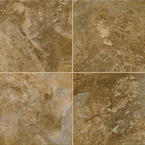 Armstrong FPD6331861 Allegheny Slate Alterna Reserve Vinyl Tile Flooring, Bronze Age