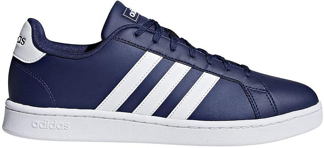 adidas Grand Court, Chaussures de Tennis Homme, Bleu (Azuosc