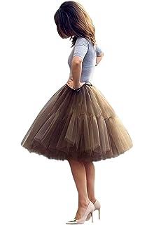 2f6e3276bf32bb Tüllrock Petticoat tüll Unterrock Ballett Tutu Rock Damen Ballettrock  Petticoat Skirt 5 Schichten Prinzessin Rock Tutu