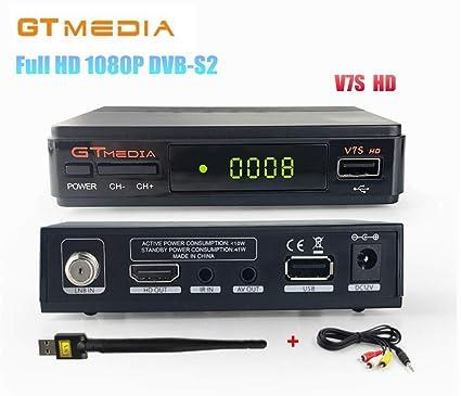 Amazon com: GTMedia V7S HD DVB-S2 Full HD 1080P Satellite TV
