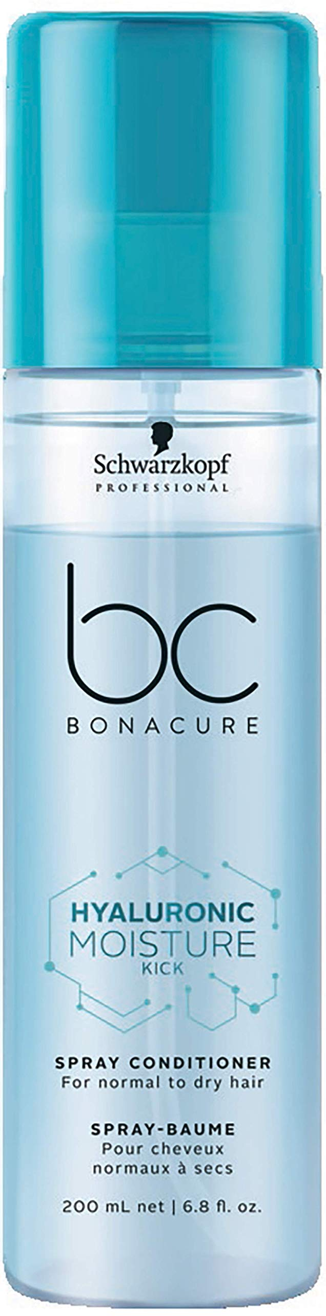 BC BONACURE Hyaluronic Moisture Kick Spray Conditioner, 6.8-Ounce