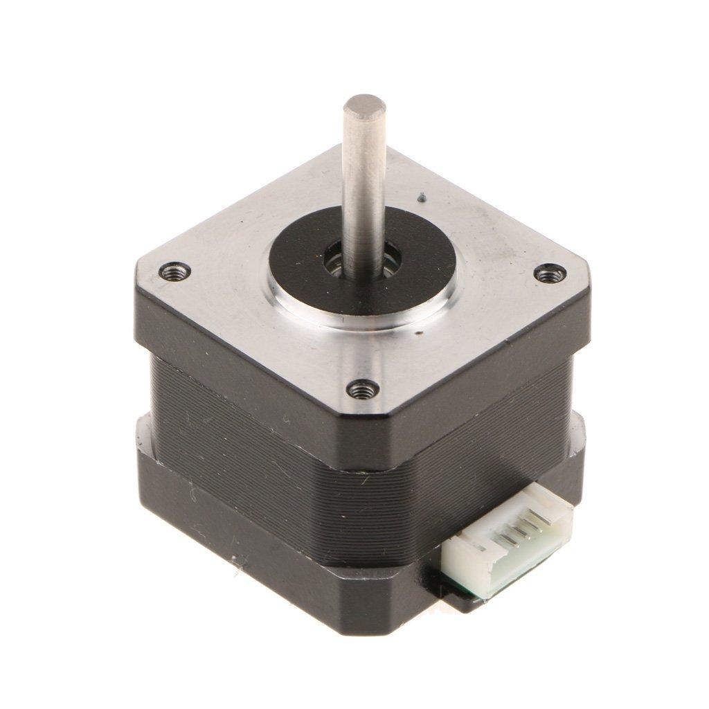 Sharplace Schrittmotortreiber mit K/ühlk/örpern SL42STH40-1684A Schrittmotor 3D-Drucker-Motoren Teile