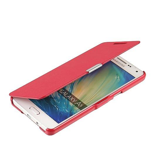 61 opinioni per Cover Samsung Galaxy A5 (2015), MTRONX Custodia Case Ultra Folio Flip Stile
