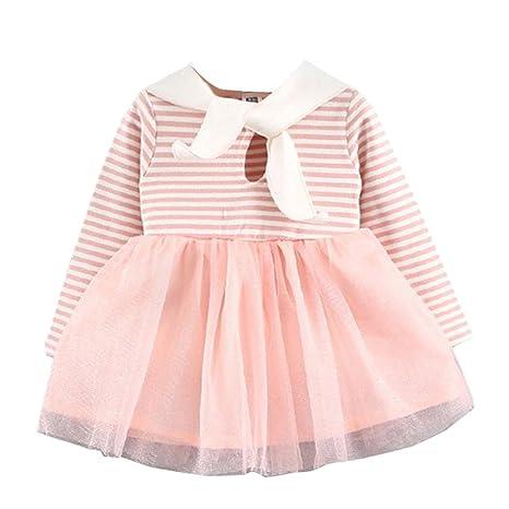 Ropa de bebé Dress jamicy® Completo algodón Stripe Malla Rabbit ...