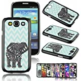 Voberry Retro Style Dream Catcher Elephant Animal Hard Case Cover Protetive Skin Cover for Samsung Galaxy S3 i9300 ((1))