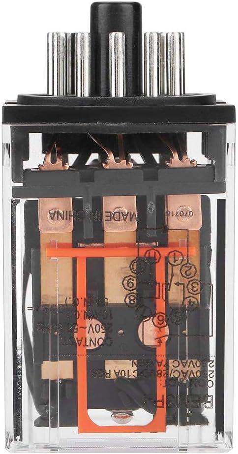 DEWIN MK3P-I AC 220V Rel/é el/éctrico electromagn/ético de prop/ósito General 11 Pines 10A 3Z