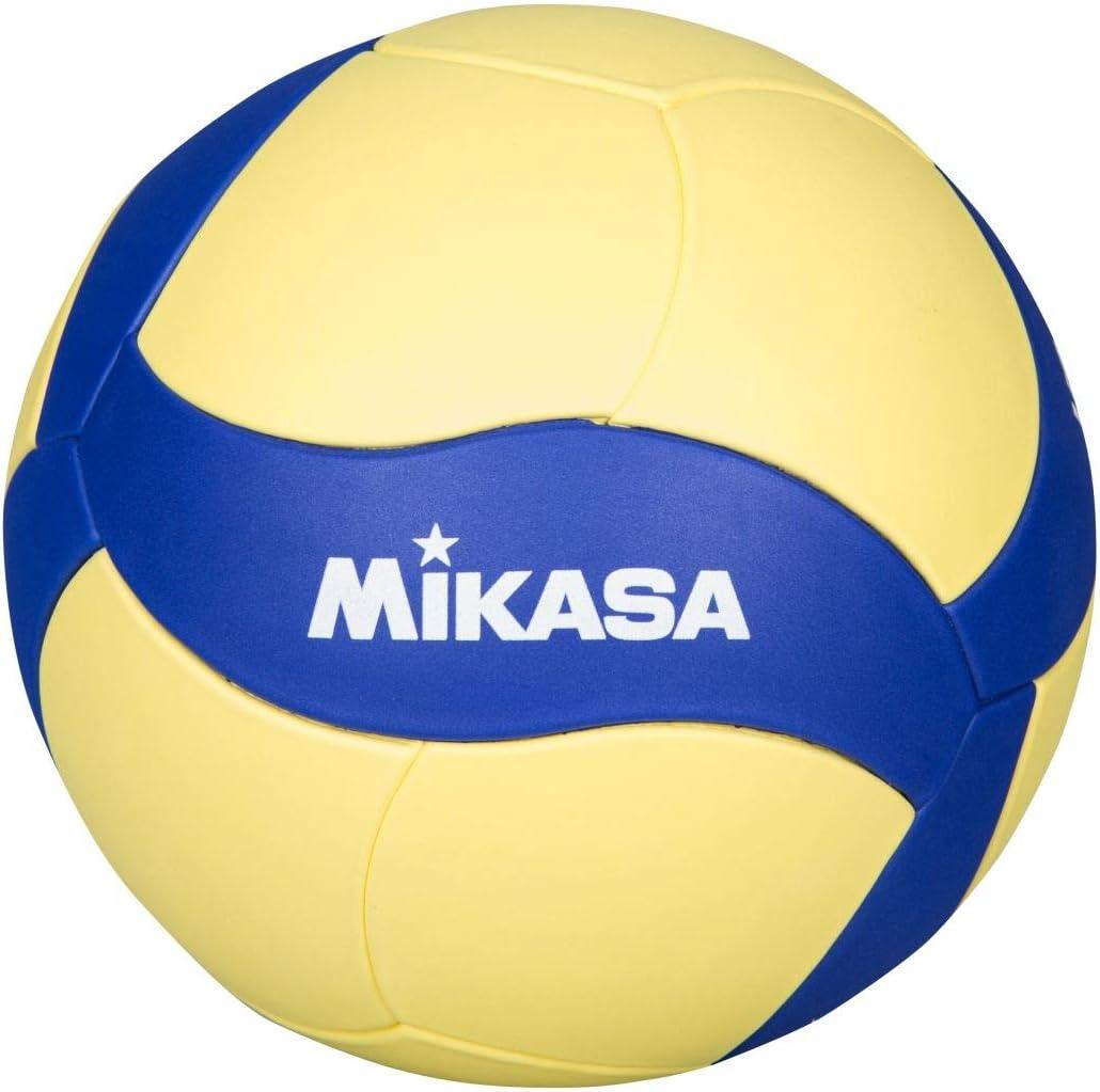 MIKASA VS123W - Pelota de Voleibol, Color Azul: Amazon.es ...
