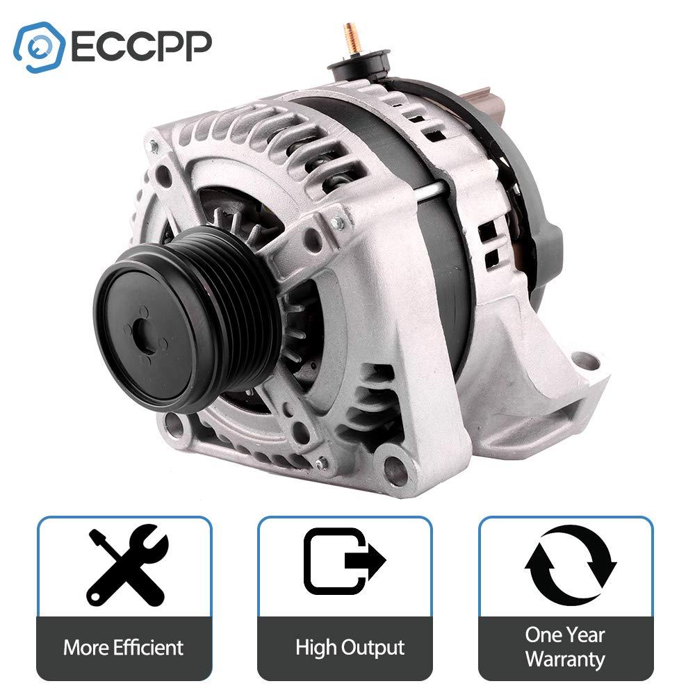 Alternators ECCPP 13871 for Chrysler Town Country VAN Dodge Caravan//Grand Caravan 2001 2002 2003 2004 2005 2006 2007 3.3L 3.8L 140A 12V CW ER//IF