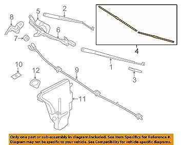 BMW Original Limpiaparabrisas 5/F07 GT - 7ER/F01 F02: Amazon.es: Coche y moto