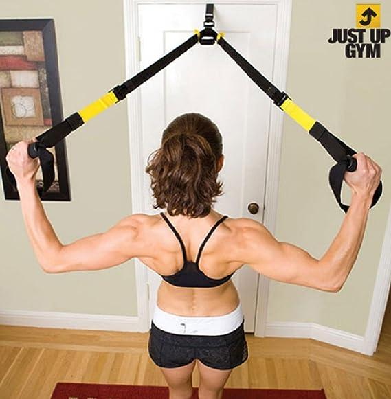 Just Up Gym pecho expansores para entrenamiento en suspensión ...