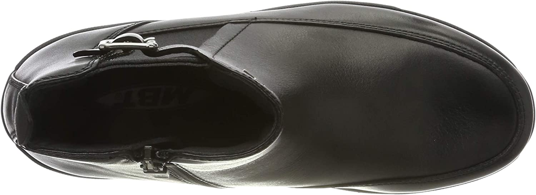 MBT Damen W Chelsea Boots Schwarz Black 03n