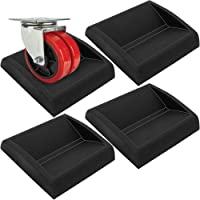 WEWGO Bed Stoppers & Meubelbekers - Premium Siliconen Casters Meubelstoppers past op alle Wielen van Meubilair, Banken…
