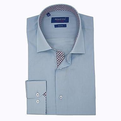 Meadrine Traje Camisa Celeste Que Azulejos Interiores - 3XL, Azul: Amazon.es: Ropa y accesorios