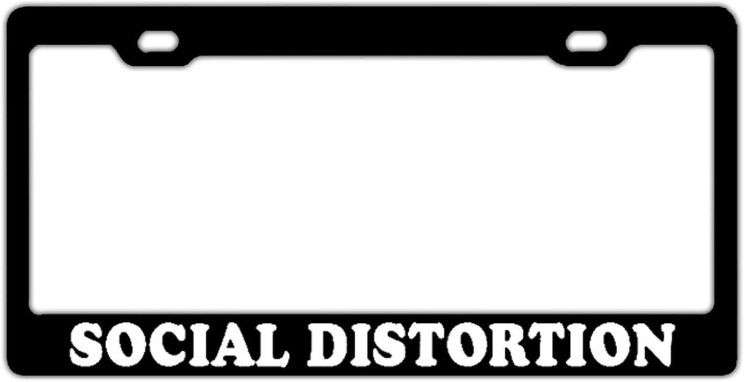 Social Distortion License Plate Frame
