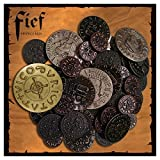 Fief - France 1429 Board Game Medieval Coin Tokens Set