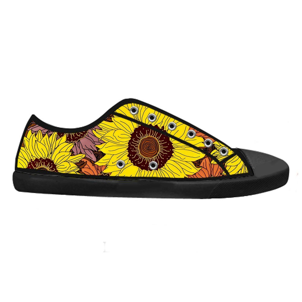 Daniel Turnai Fan Custom Mens Fashion DIY Image Sunflower New Sneaker Canvas Shoes
