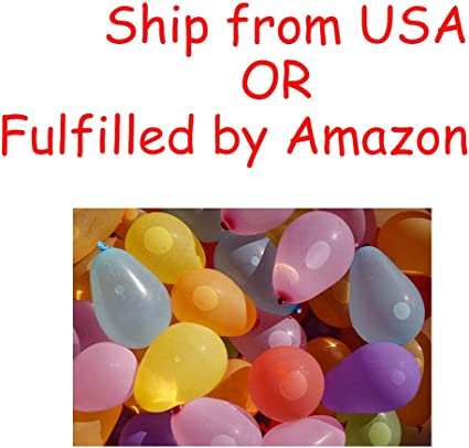 Smileyyi 1000pcs/Rubbers Water Balloons with 3 Refill Kits Water Bomb Balloons Fight Games Summer for Kids Adults