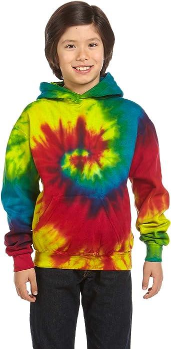 Tie-Dyed Tie-Dye 8.5 oz Pullover Hood