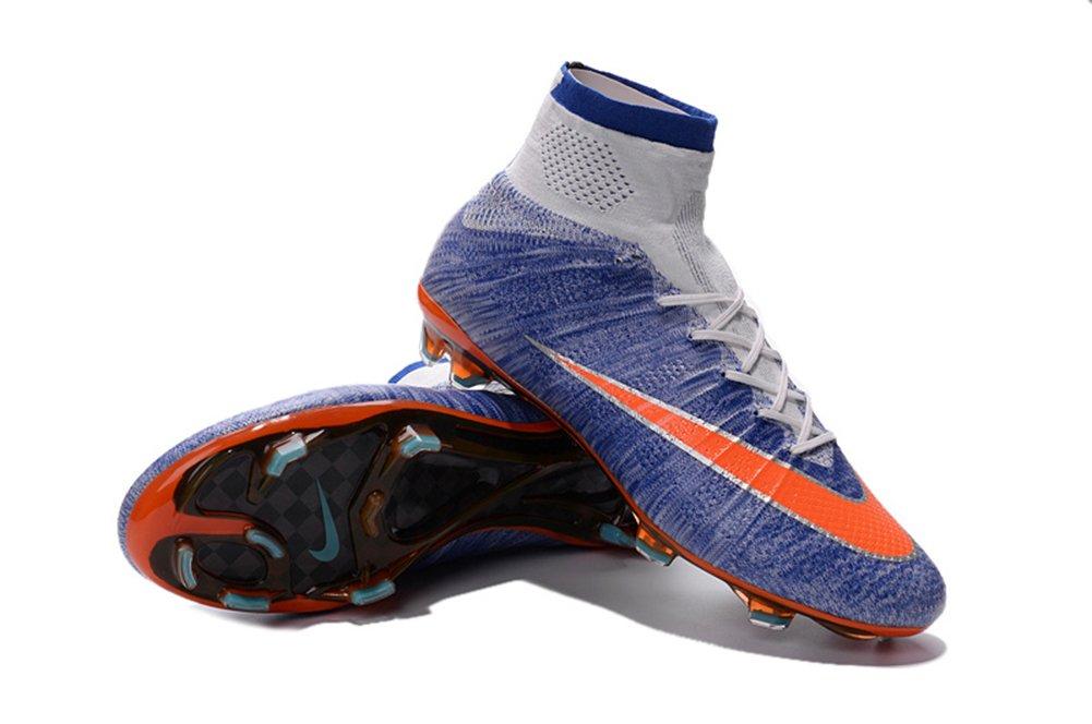 Haovetre Schuhe Herren Mercurial superfly fg Royal Blau Fußball Fußball Stiefel