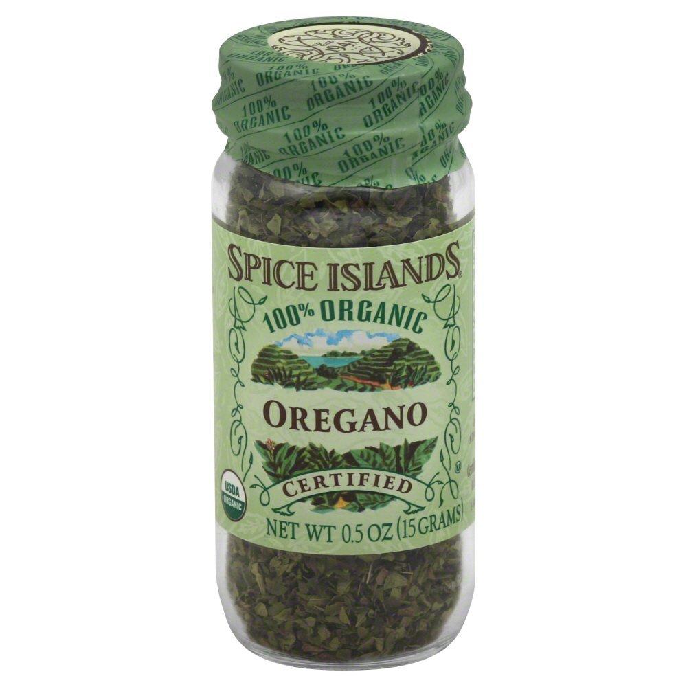 Spice Island Organic Oregano Leaf, 0.5 Ounce (Pack of 3)