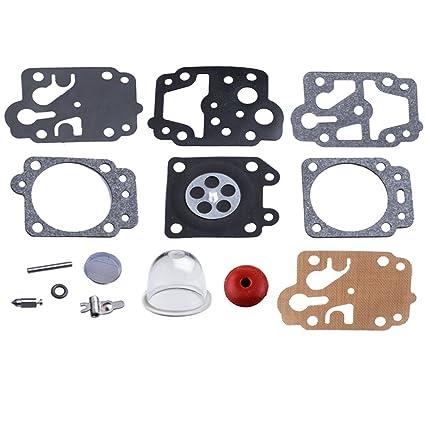 Amazon.com: HIPA carberetor Rebuild Kit foco de imprimación ...