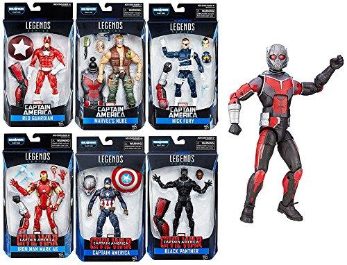 Captain America Marvel Legends Series Civil War - Ant-Man Build a Figure Set