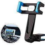 iVoler® Supporto Auto Smartphone con Clip - Universale Porta Cellulare Auto 360 Gradi di Rotazione Air Vent Car Mount per iPhone 7/7 Plus/6S/5S/5C/SE, Samsung Galaxy S7/S7 Edge/S6/S6 Edge/S5, Nexus 6P/5X, LG, Sony Xperia, Huawei, GPS e Altro - Blu/Nero