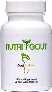 NutriGout - Uric Acid Support Formula - 60 Vegetarian Capsules