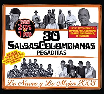 Various - 30 Salsas Colombianas Pegaditas: Nuevo Y Mejor 08 by Various - Amazon.com Music