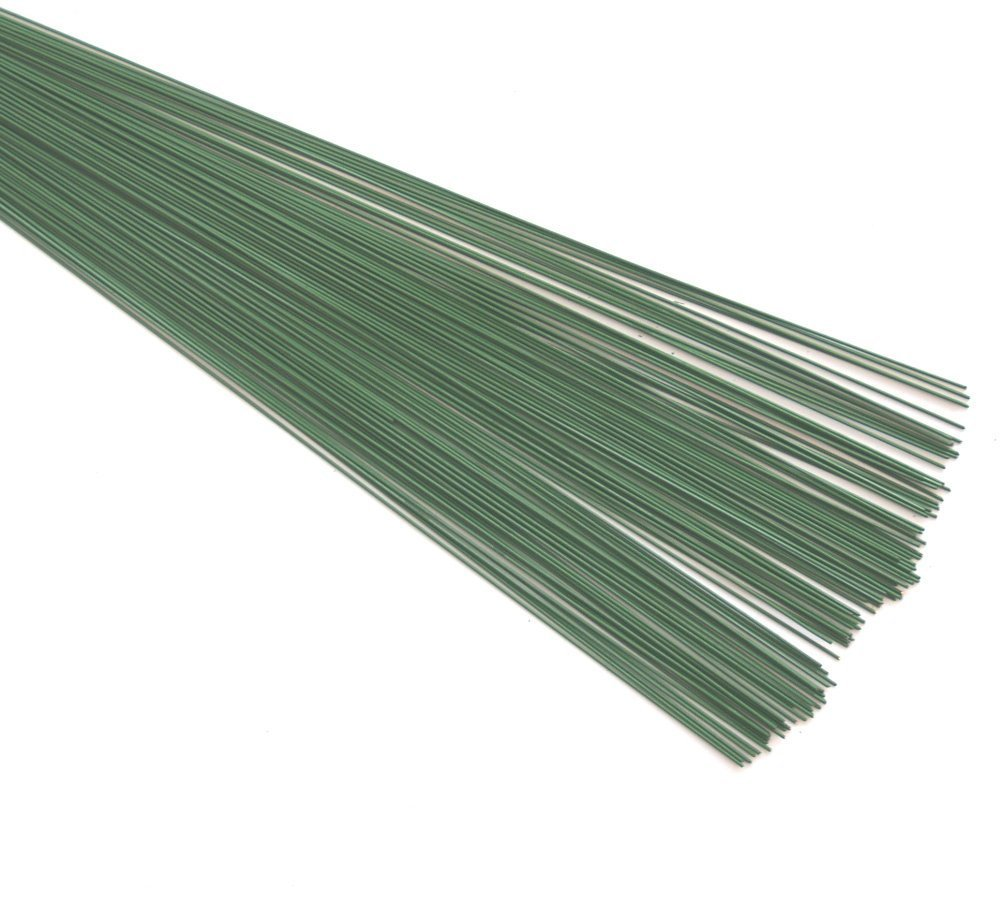 FLORIST, FLORAL GREEN STUB WIRE (0.9mm) 20swg x 7.5/ 7.75' 88 grms approximatly 100 pieces. IDEAL FOR THE CRAFS PERSON FLORAL GREEN STUB WIRE (0.9mm) 20swg x 7.5/ 7.75 88 grms approximatly 100 pieces. IDEAL FOR THE CRAFS PERSON FLOWERS FOR LOVE