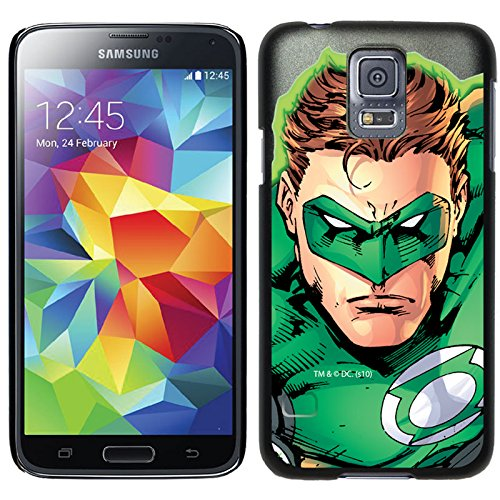 Coveroo Thinshield Cell Phone Case for Samsung Galaxy S5 - Green Lantern Close-Up (Lantern Green Case Galaxy S5)