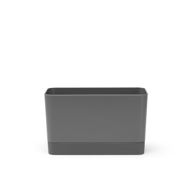 Brabantia Sink Organiser, Dark Grey, 8.5 x 19 x 11.5 cm 117503