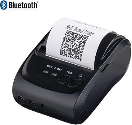Amazon.com: Impresora de recibos térmicos MUNBYN USB ...