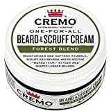 Cremo Beard & Scruff Cream, Improved Forest Blend Fragrance, Moisturizes, Styles And Reduces Beard Itch For All Lengths Of Facial Hair, 4 Ounces, Packaging May Vary
