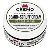 Facial Hair Styles All - Cremo Beard & Scruff Cream, Improved Forest Blend Fragrance, Moisturizes, Styles And Reduces Beard Itch For All Lengths Of Facial Hair, 4 Ounces, Packaging May Vary