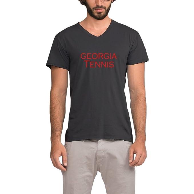 8dc772bbc0956 2016 de la mujer tenis media guide jóvenes hombres V cuello deportes  camiseta de impresión gráfica  Amazon.es  Ropa y accesorios