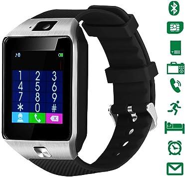 Smartwatch,LATEC Reloj Inteligente Android con Ranura para Tarjeta ...