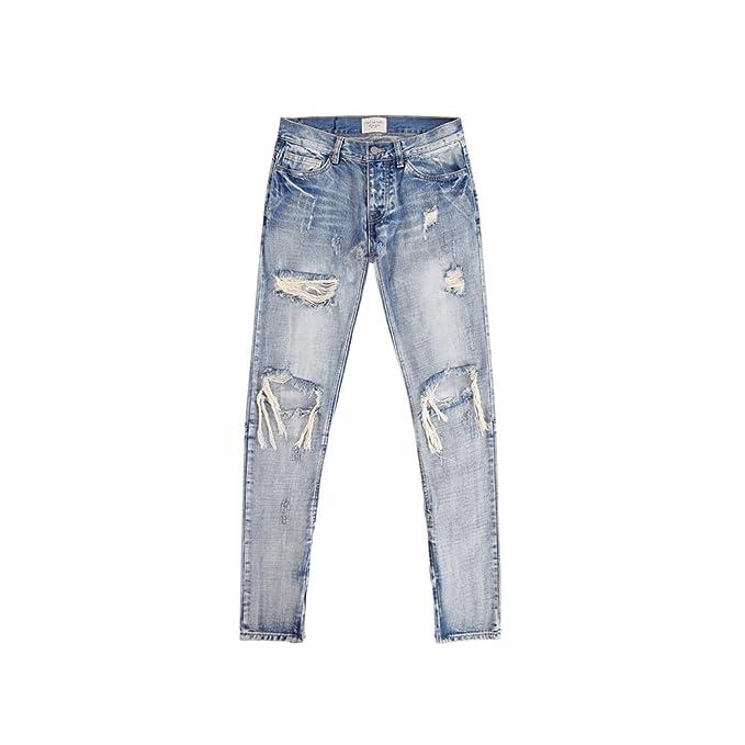 ZHAOXIANGXIANG Reparar Rotura Lavar Jeans Vaqueros De ...