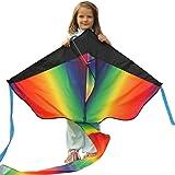Riesiger Drachenflieger zum Verkauf – fliegt in jeder Brise – perfekt für Kinder, einfach zu fliegen – leicht und stabil | 100% Geld-zurück-Garantie