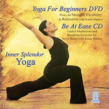 Yoga for Beginners DVD and Be At Ease Guided Meditation by ...