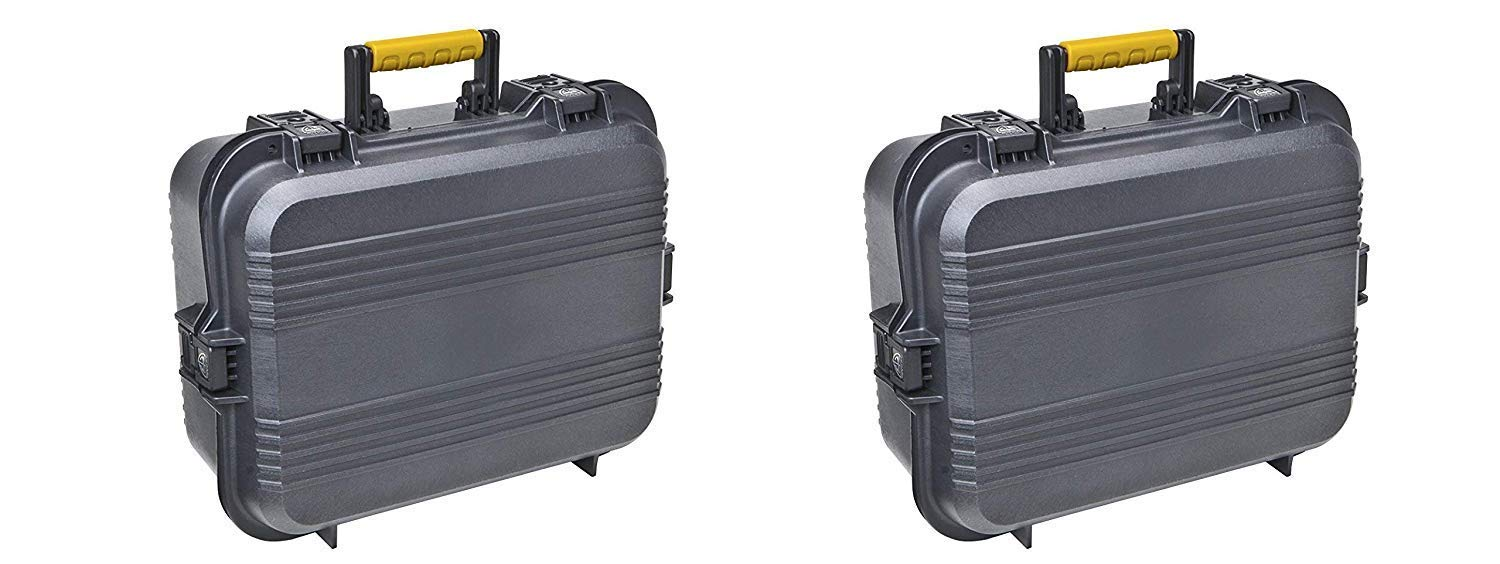 Plano 108031 AW XL Pistol/Accessories Case Black (Pack of 2) by Plano