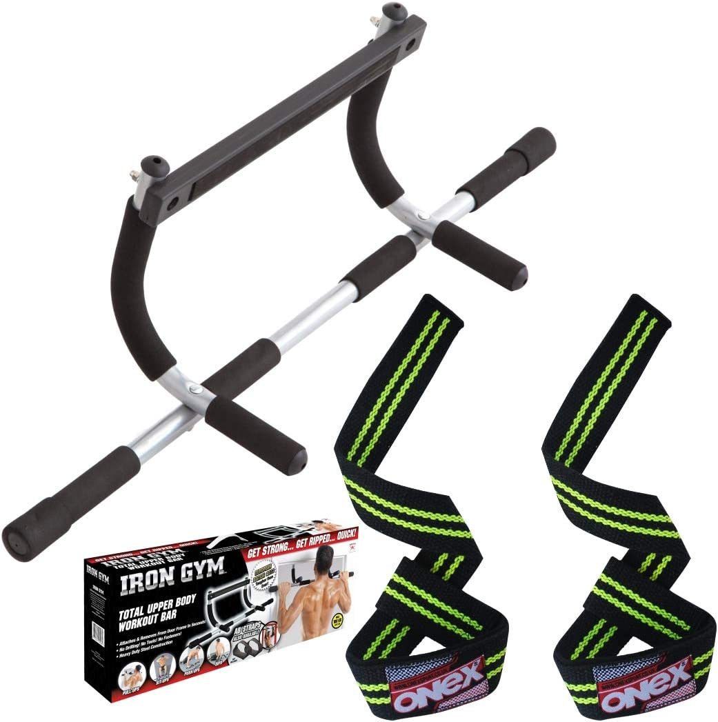 Soft Grip Quick Easy Fit Standard Door Frame User Weight up to 100kg. ONEX Multifunctional door Pull-up Bar