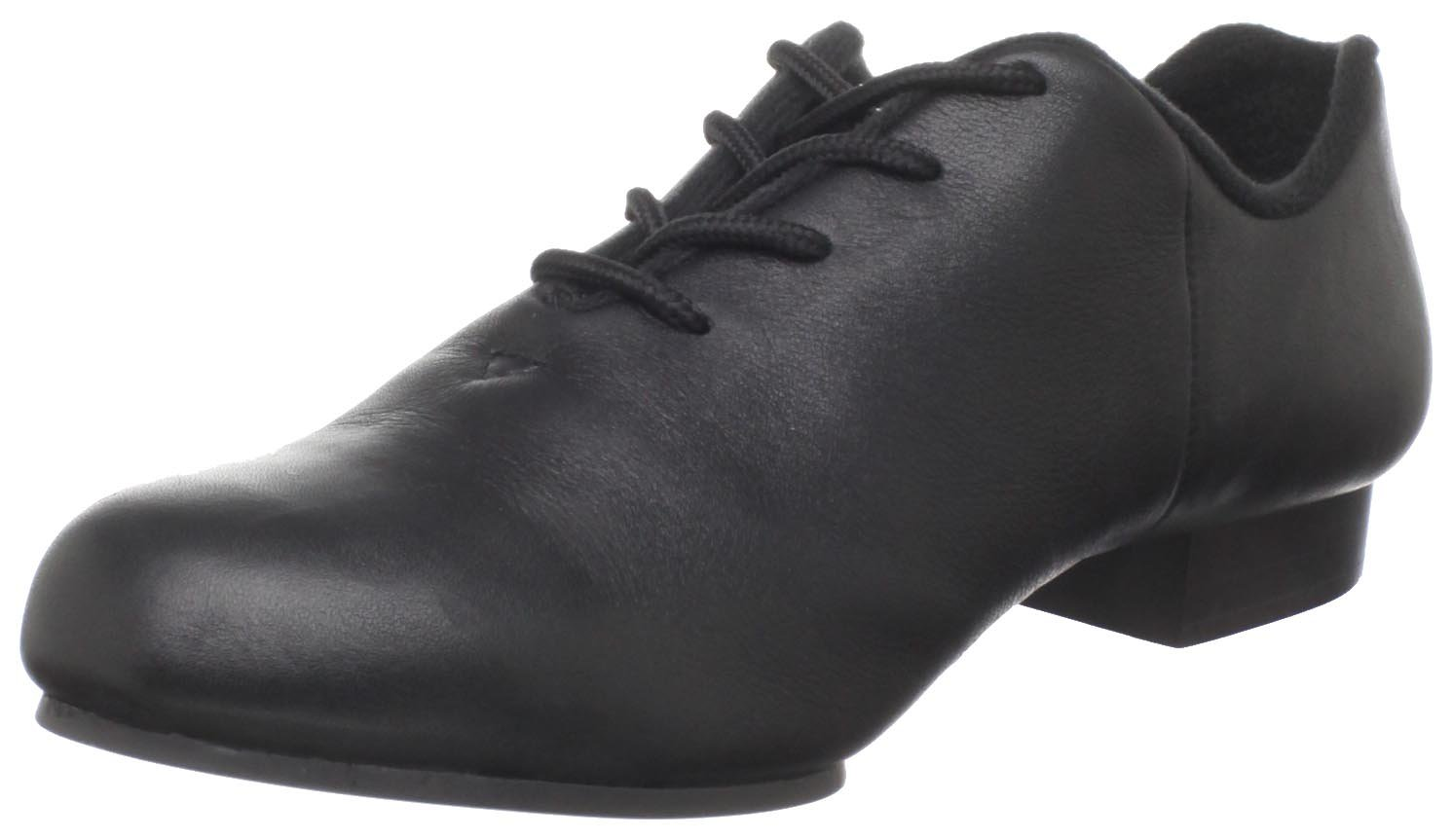 Dance Class Women's CS201 Split Sole Jazz/Clogging Oxford,Black,6 M US