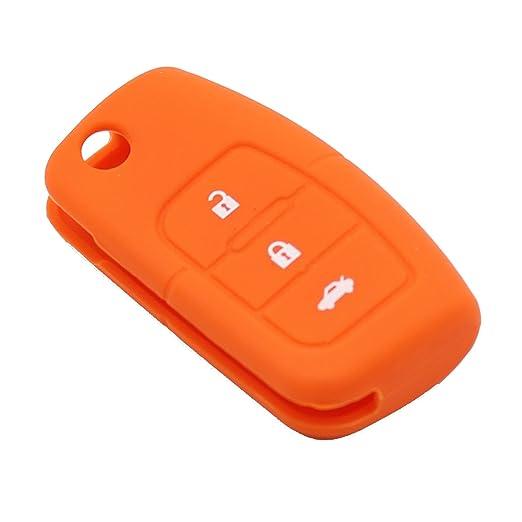 3 opinioni per Cover in silicone a 3 pulsanti per telecomando di Ford Fiesta, Focus, Mondeo,