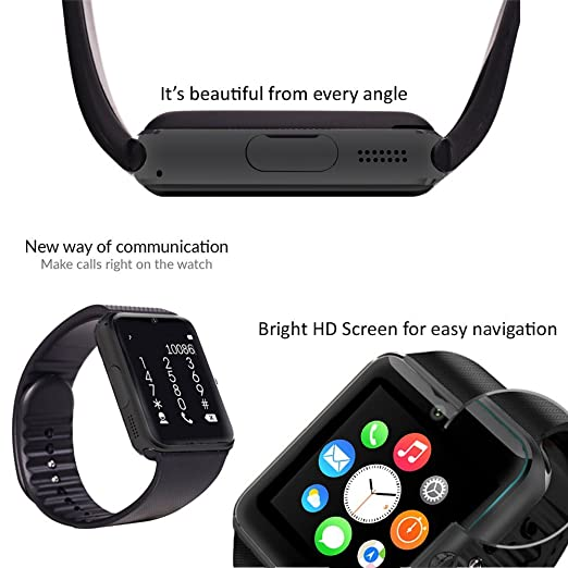 Amazon.com: 2016 Indigi GSM Unlocked GT8 2in1 Fitness Smart Watch Phone +FREE 32gb microSD: Cell Phones & Accessories