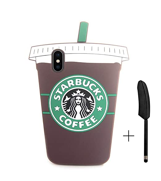 Amazon Com Hikerclub Iphone X Silicone Case Starbucks
